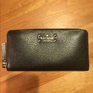 Kate Spade Wellesley Wallet Black